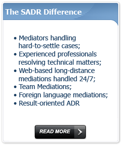 The Specialized ADR Difference